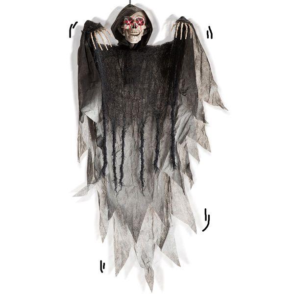 Skelett mit Licht und Sound 90cm