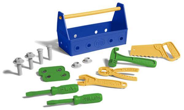 Werkzeugbox blau