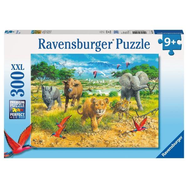 puzzle afrikas tierkinder ravensburger puzzle f r. Black Bedroom Furniture Sets. Home Design Ideas