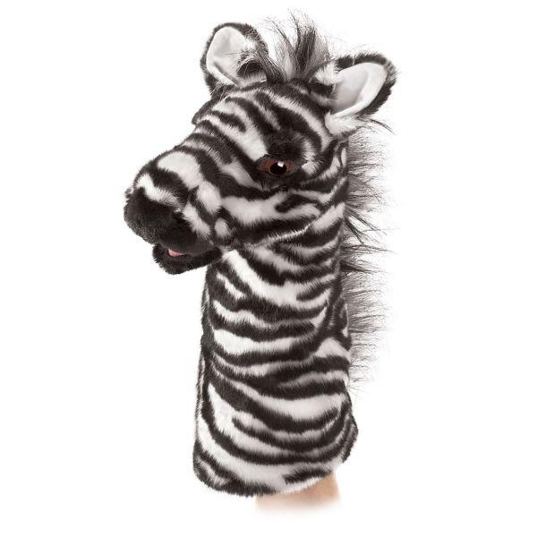 Bühnenpuppe Zebra
