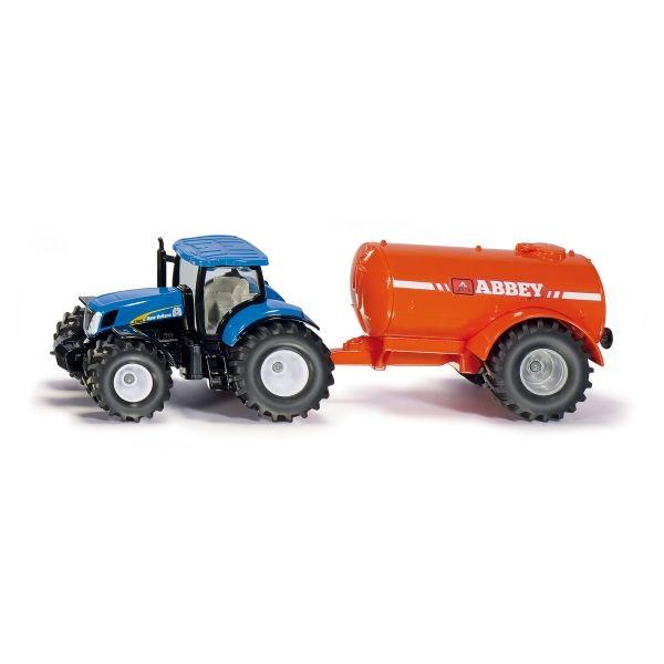 Traktor mit Ein-Achs-Gülle-