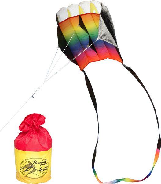 Drachen Parafoil Rainbow