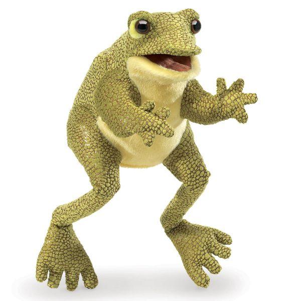 Handpuppe Lustiger Frosch