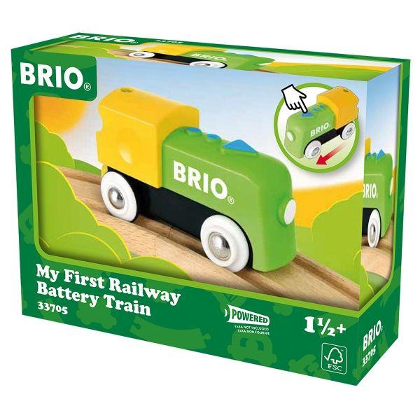 Batterielok First Railway