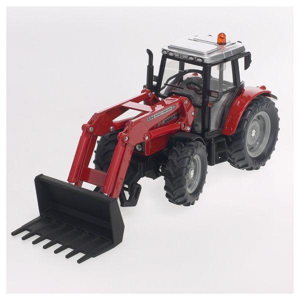 Traktor mit Frontgabel