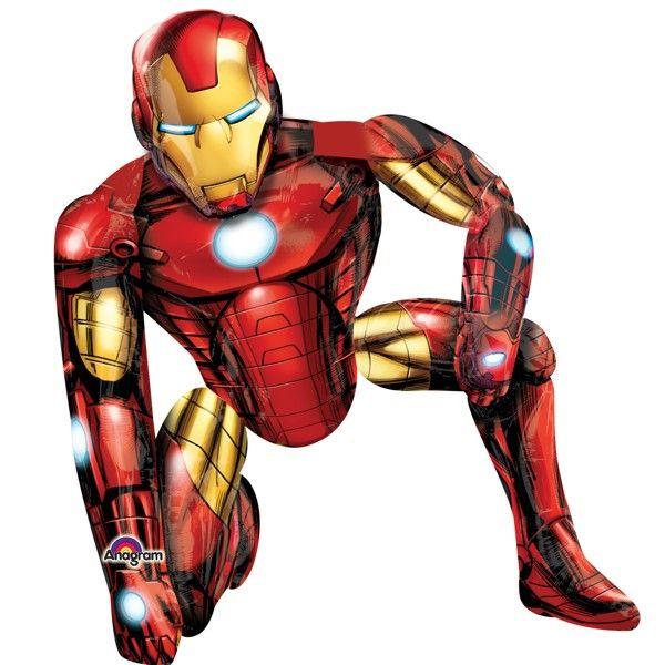 FB Iron Man laufend 93x116cm