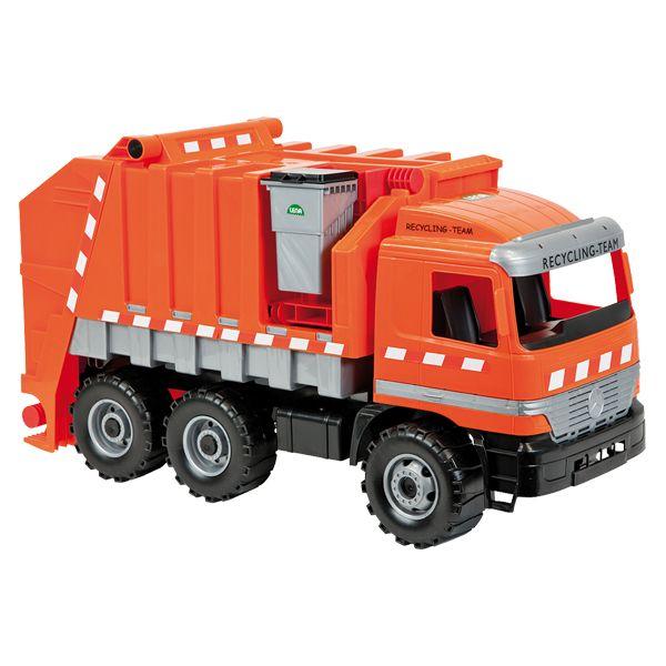 LENA Müllwagen orange, gross